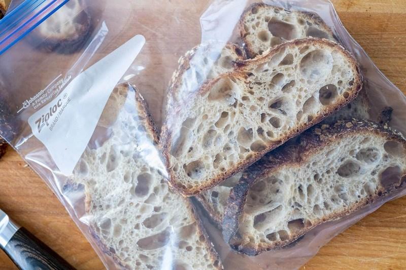 Cách bảo quản bánh mì sandwich