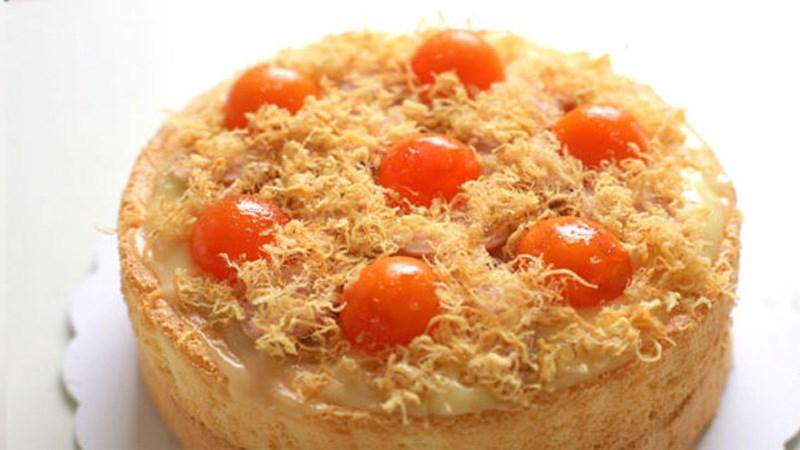 Bánh bông lan trứng muối