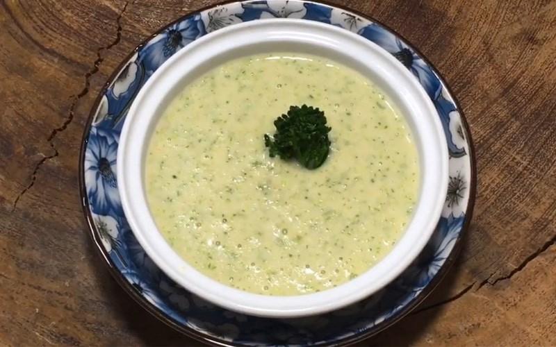 Cháo yến mạch tôm bông cải xanh