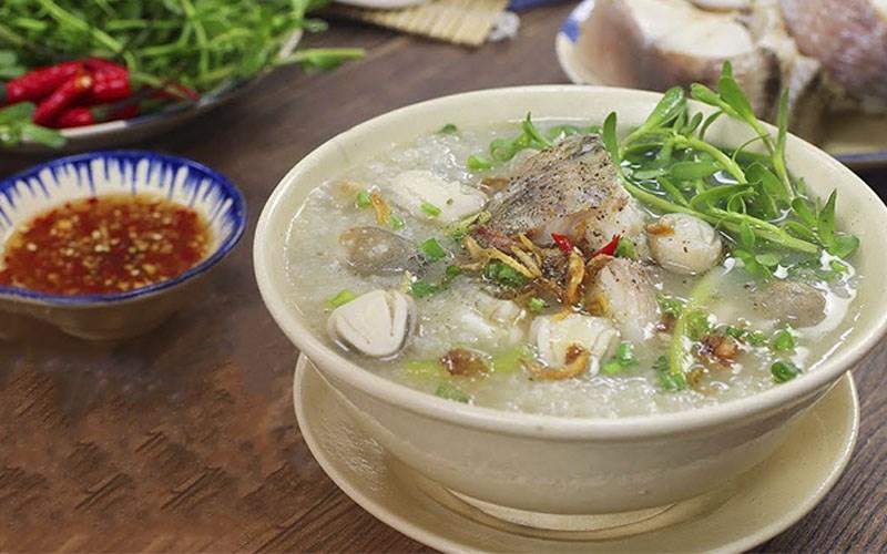Cháo cá lóc rau đắng – món ăn miền Tây dân dã