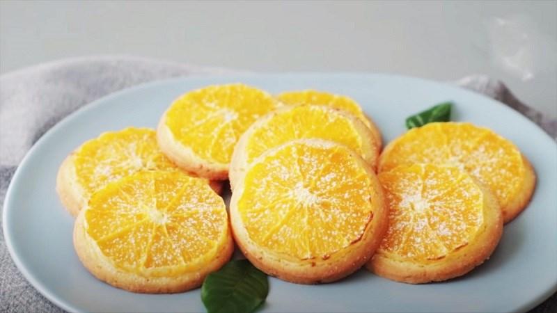 Bánh quy cam tươi