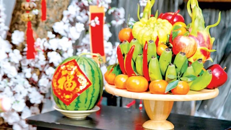 Khay trái cây