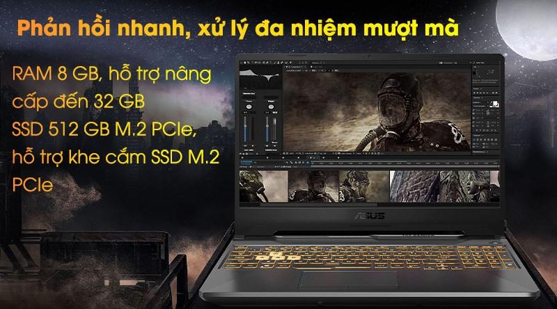 Laptop Asus TUF Gaming FX506LI i7 (HN096T) - Đa nhiệm