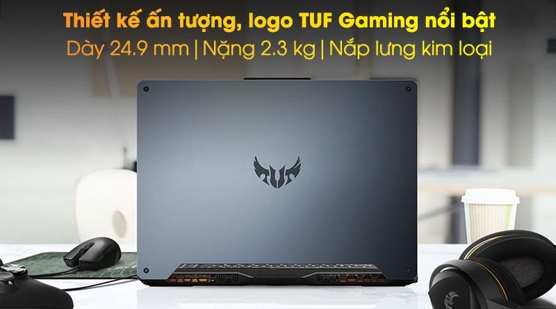 Laptop Asus TUF Gaming FX506LI i7 (HN096T) - Thiết kế