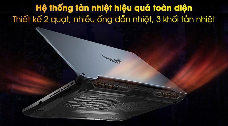 Laptop Asus TUF Gaming FX506LI i7 (HN096T) - Tản nhiệt