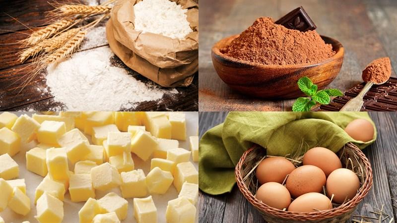 Nguyên liệu món ăn bánh tai heo