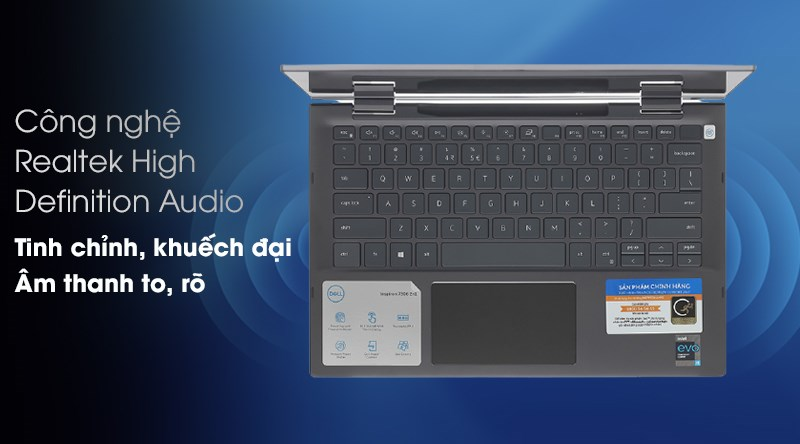 Laptop Dell Inspiron 7306 i5 (N3I5202W) - Âm thanh