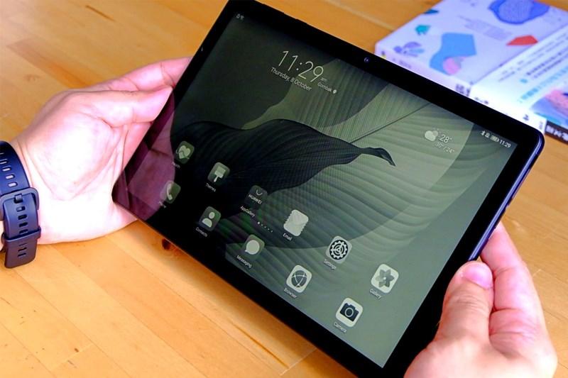 Thay đổi màu màn hình phù hợp cho mắt   Huawei MatePad T10s