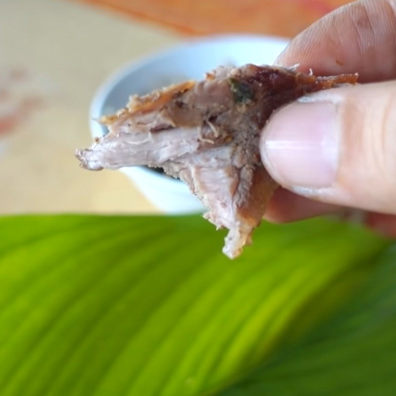 Bước 4 Thành phẩm Thịt heo rừng nướng muối ớt