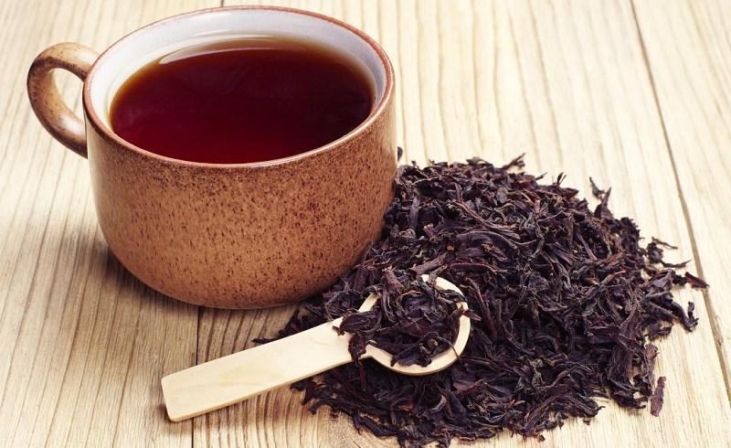 Lá trà đen