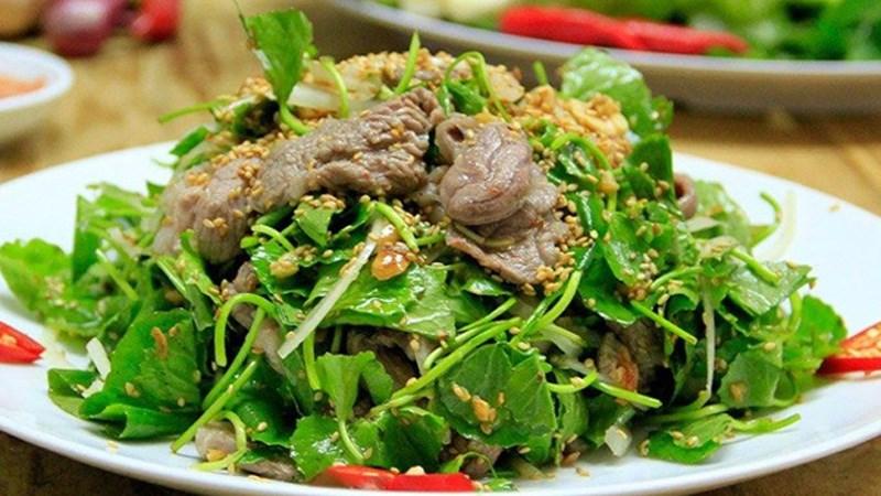 Salad mì bò