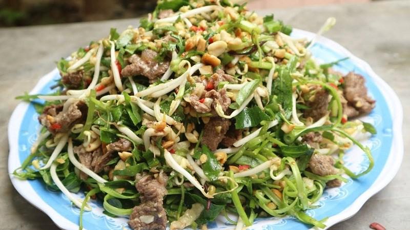 Salad rau chân vịt