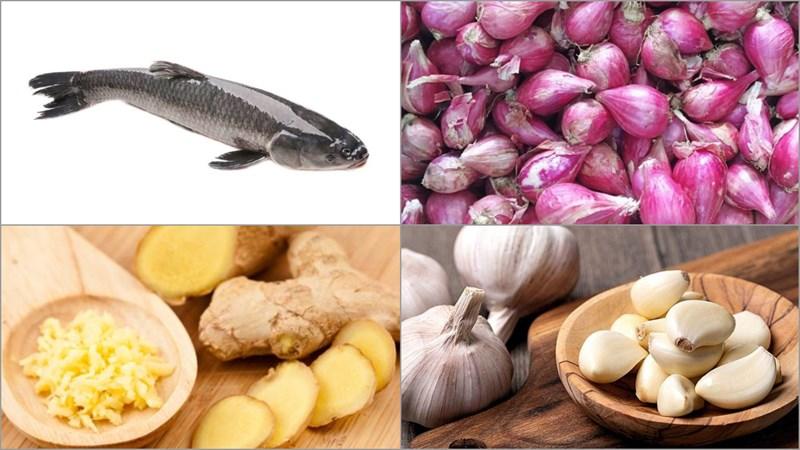 Nguyên liệu món ăn cách làm chà bông (ruốc) cá lóc