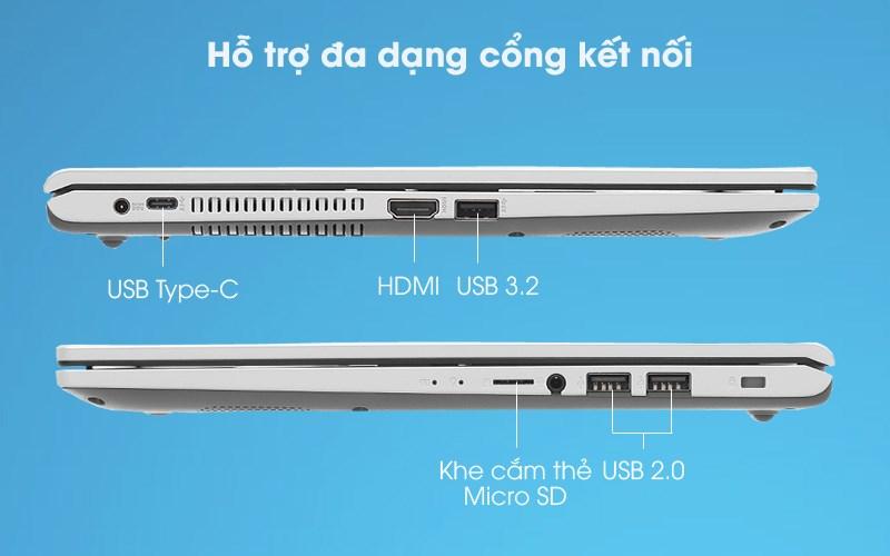 Laptop Asus VivoBook X515MA (BR111T) - Cổng kết nối
