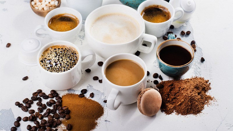 Người bị ho tránh những thực phẩm có chứa caffeine