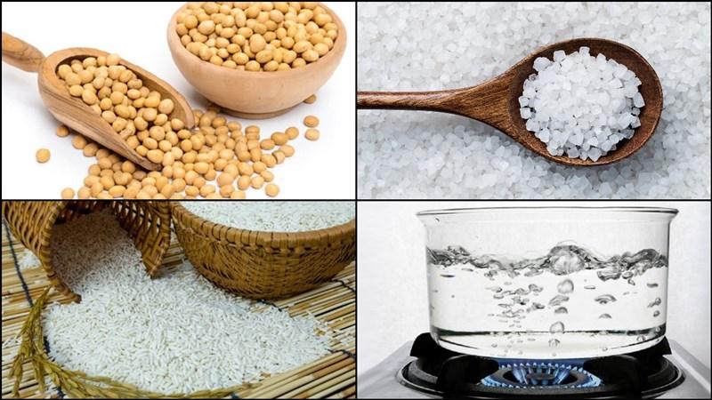 Nguyên liệu món ăn tương bần