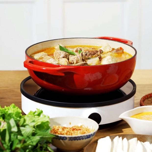 Lẩu vịt nấu chao