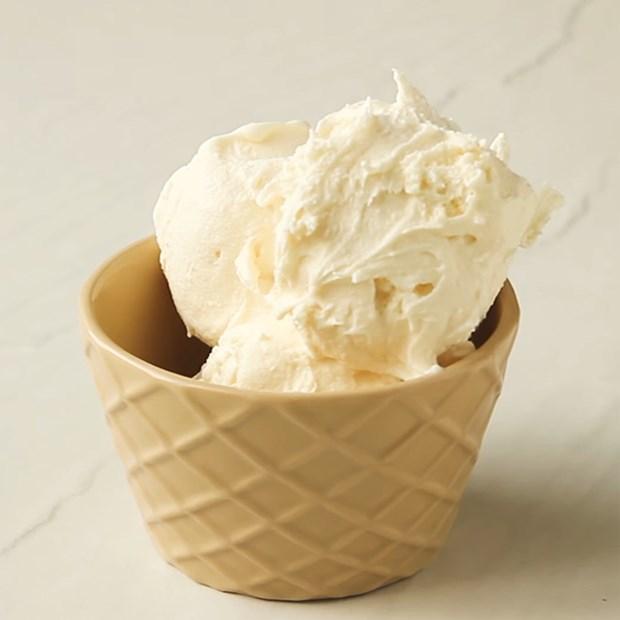 Kem phô mai - cheese ice cream