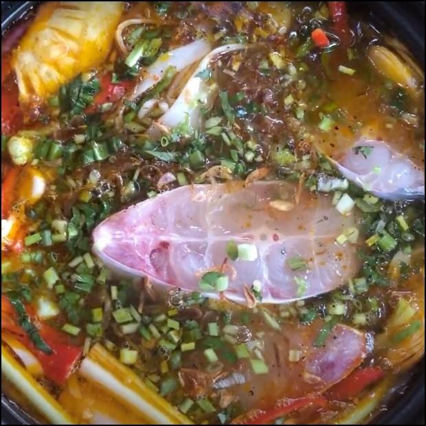 Lẩu cá dứa măng chua