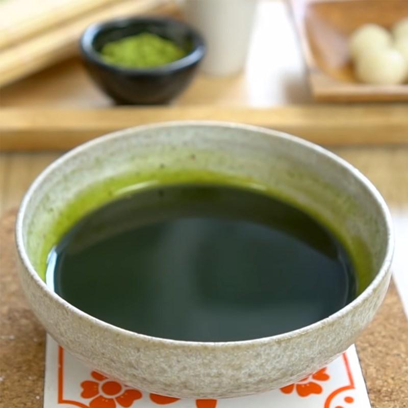 Bước 7 Làm sốt matcha Bingsu Matcha trà xanh đậu đỏ