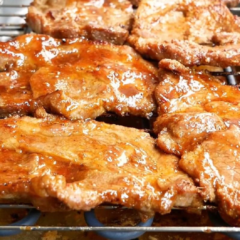 Bước 5 Nướng sườn Sườn nướng cơm tấm