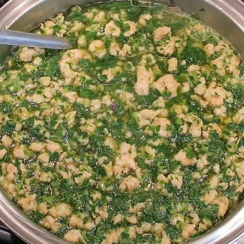 Bước 5 Thành phẩm Canh rau đay nấu tôm