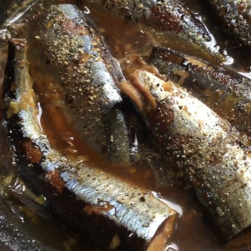 Bước 4 Thành phẩm Cá thu Nhật kho tiêu