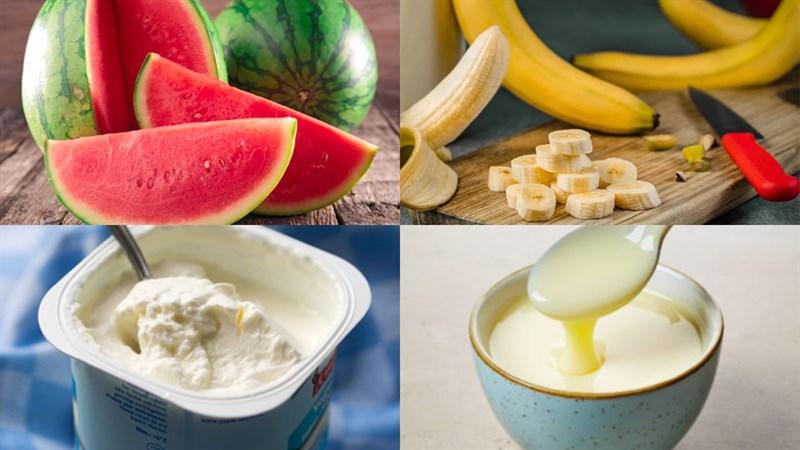 10 cách làm sinh tố dưa hấu ngon, đơn giản, cực mát lạnh