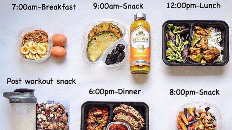 Ăn đủ bữa và chia nhỏ các bữa ăn