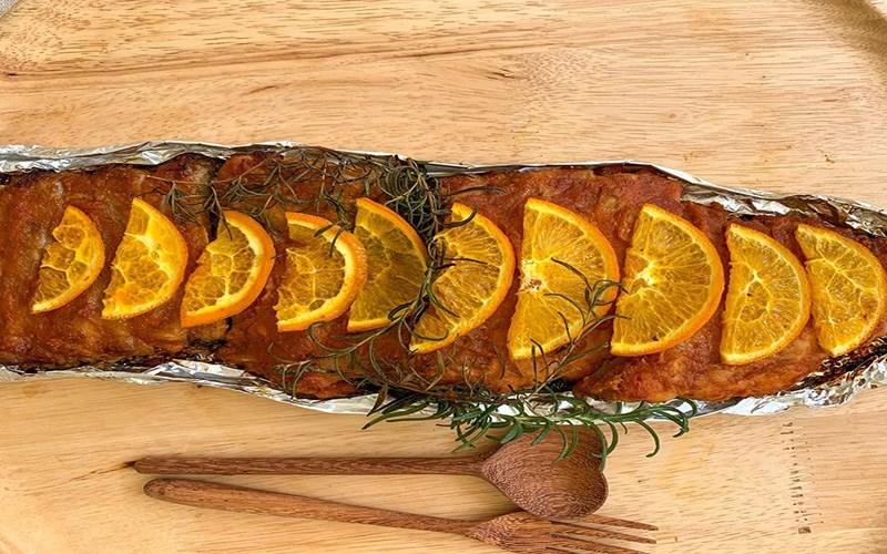Sườn nướng cam