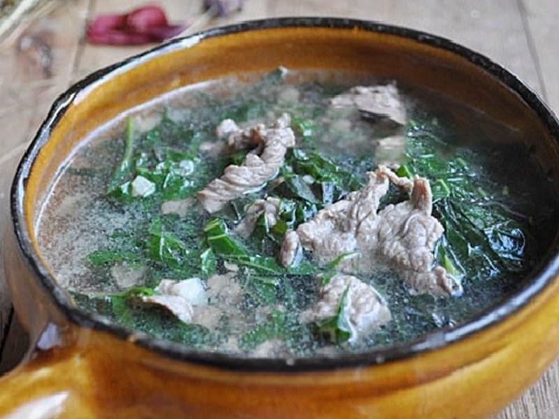 Canh thịt bò lá lốt