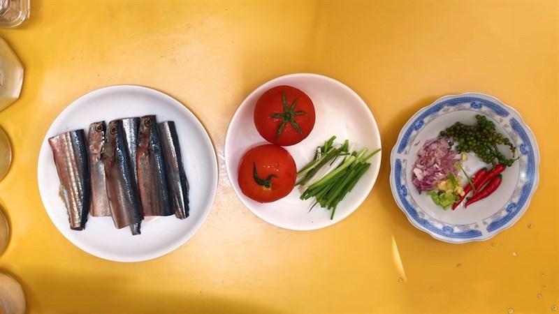 Nguyên liệu món ăn 4 cách làm cá thu nhật kho