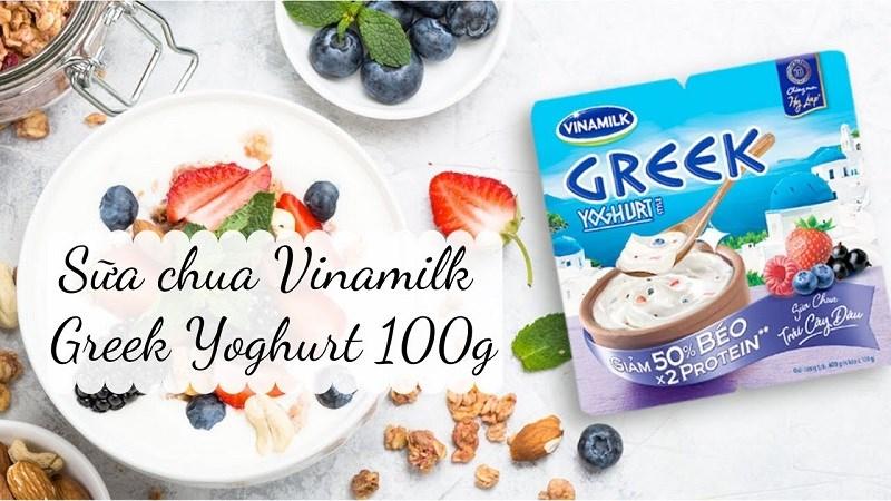 Sữa chua Hy Lạp Vinamilk giá bao nhiêu
