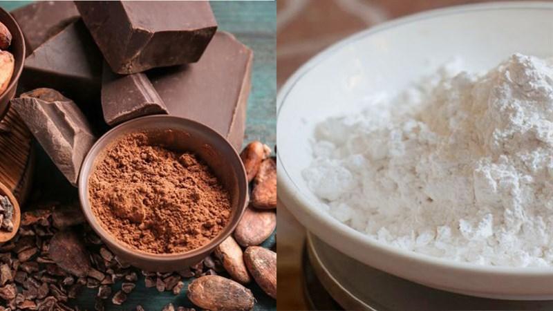 Nguyên liệu món ăn kem trà sữa trâu châu đường đen