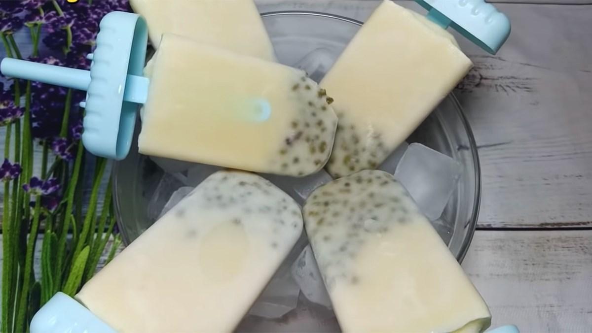 Kem đậu xanh sữa dừa