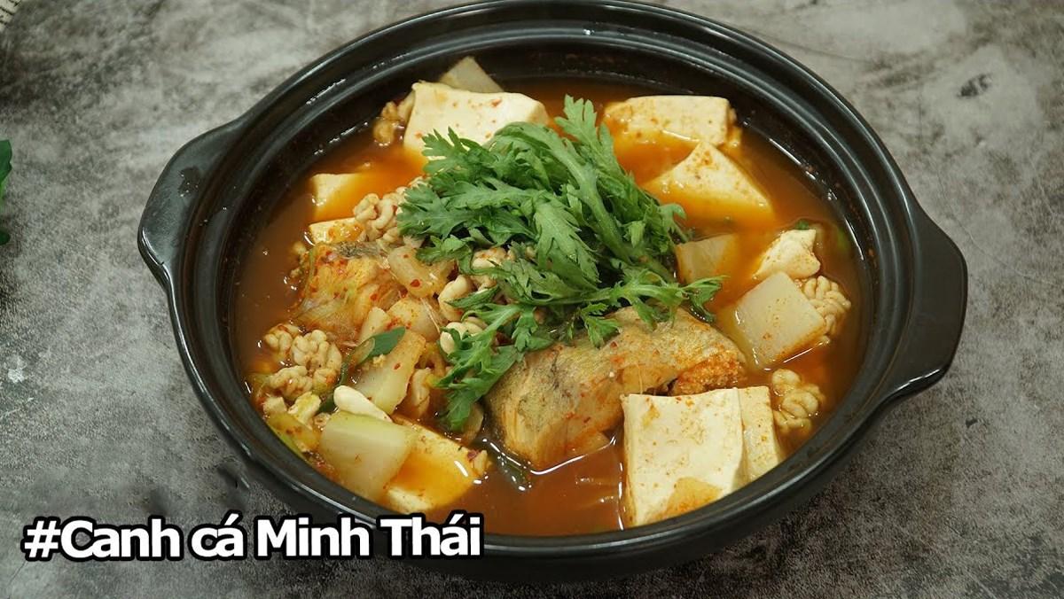 Canh cá Minh Thái