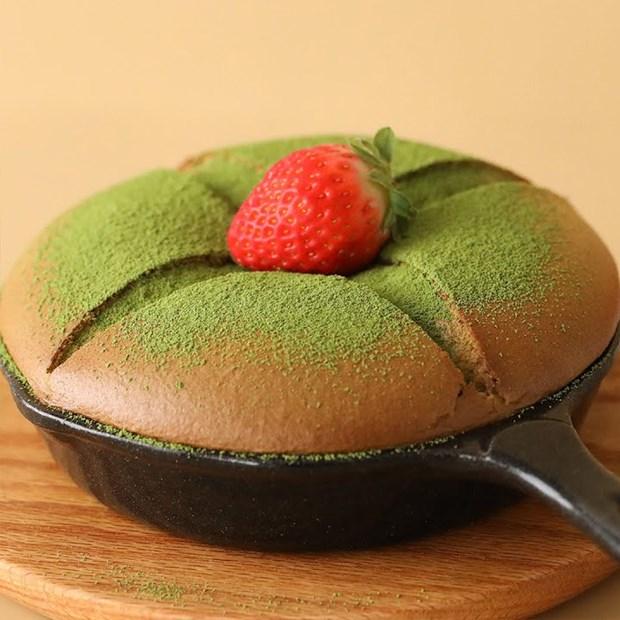 Bánh bông lan Đài Loan Castella Matcha