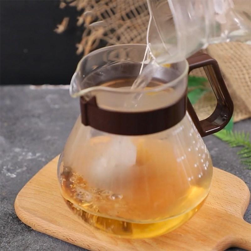Bước 1 Ngâm trà Trà lipton cam thảo
