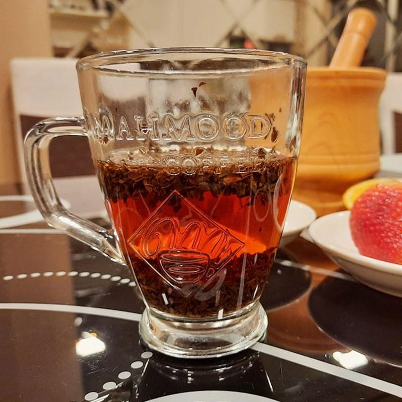 Bước 1 Pha trà Trà dâu tây tươi