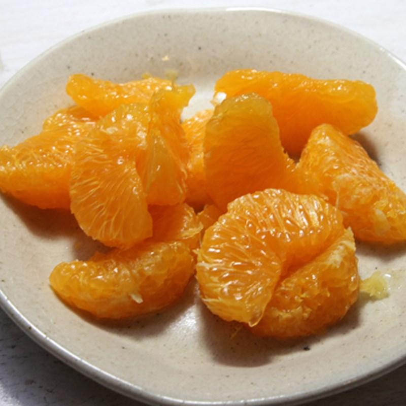 Bước 1 Sơ chế nguyên liệu Sinh tố cần tây cam dâu tây