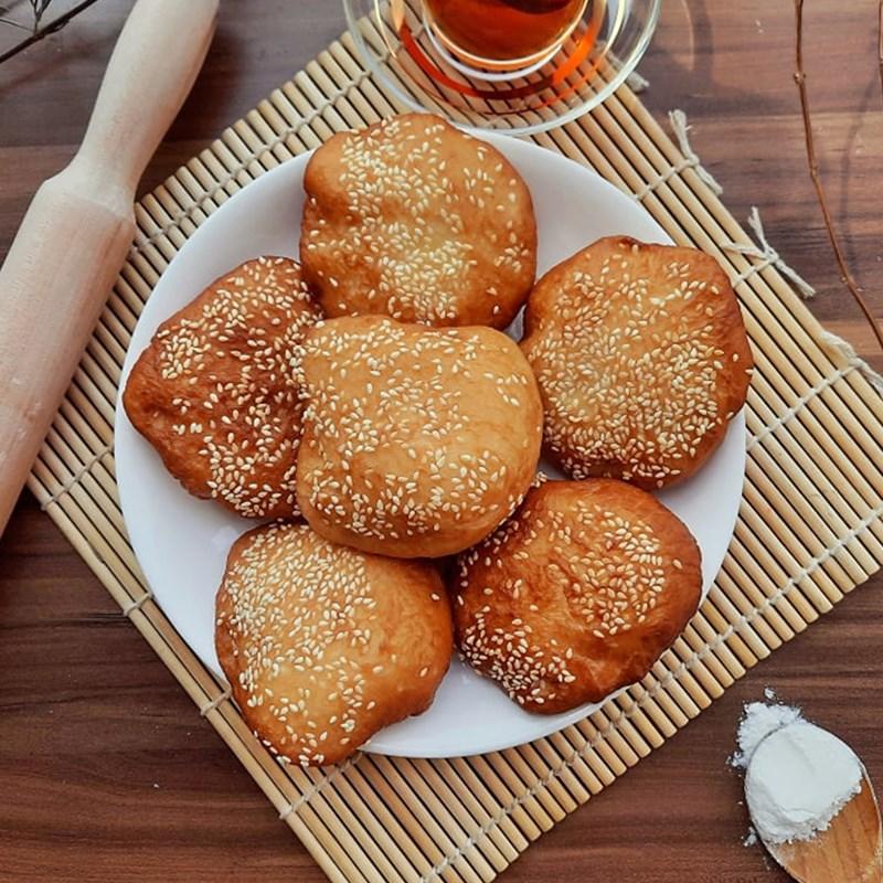 Cách làm bánh tiêu mềm ngon thơm lừng, ăn là ghiền