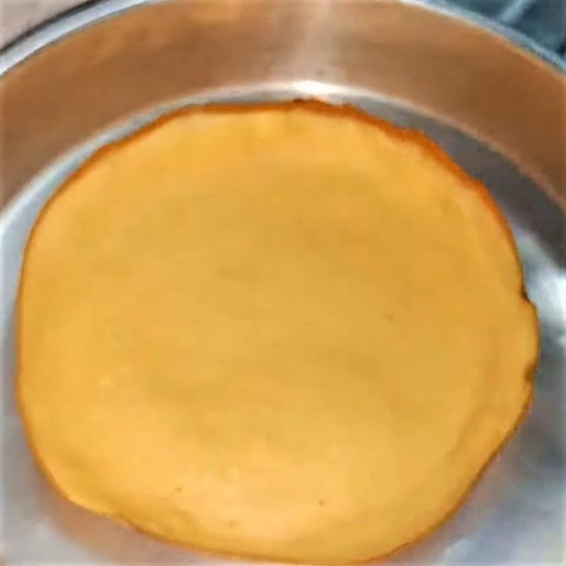 Bước 3 Tráng bánh Bánh dừa cadé