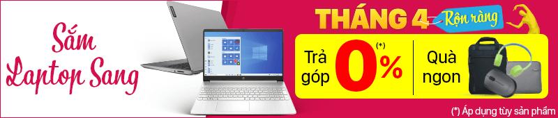 Sắm Laptop Sang