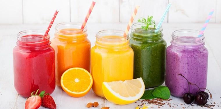 Nước trái cây giàu protein