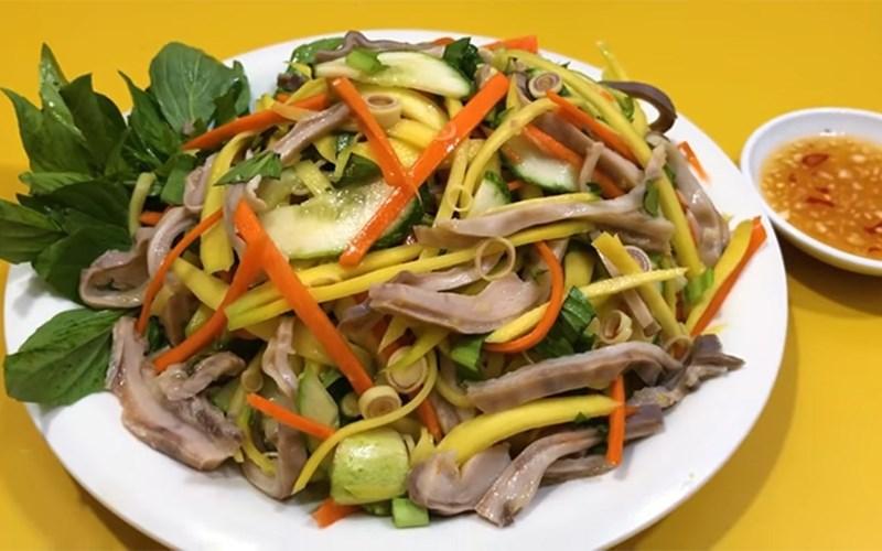 Salad xoài bao tử