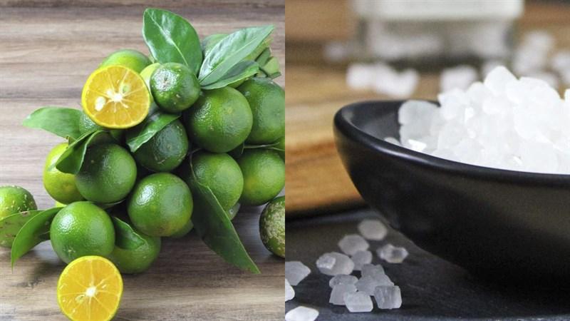 Nguyên liệu món ăn tắc chưng đường phèn