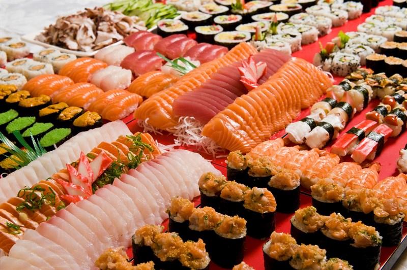 buffet theo ẩm thực quốc gia