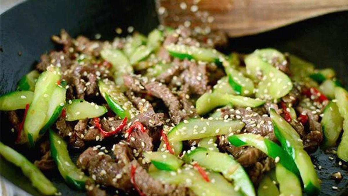 Tổng hợp 18 cách làm thịt bò xào rau củ
