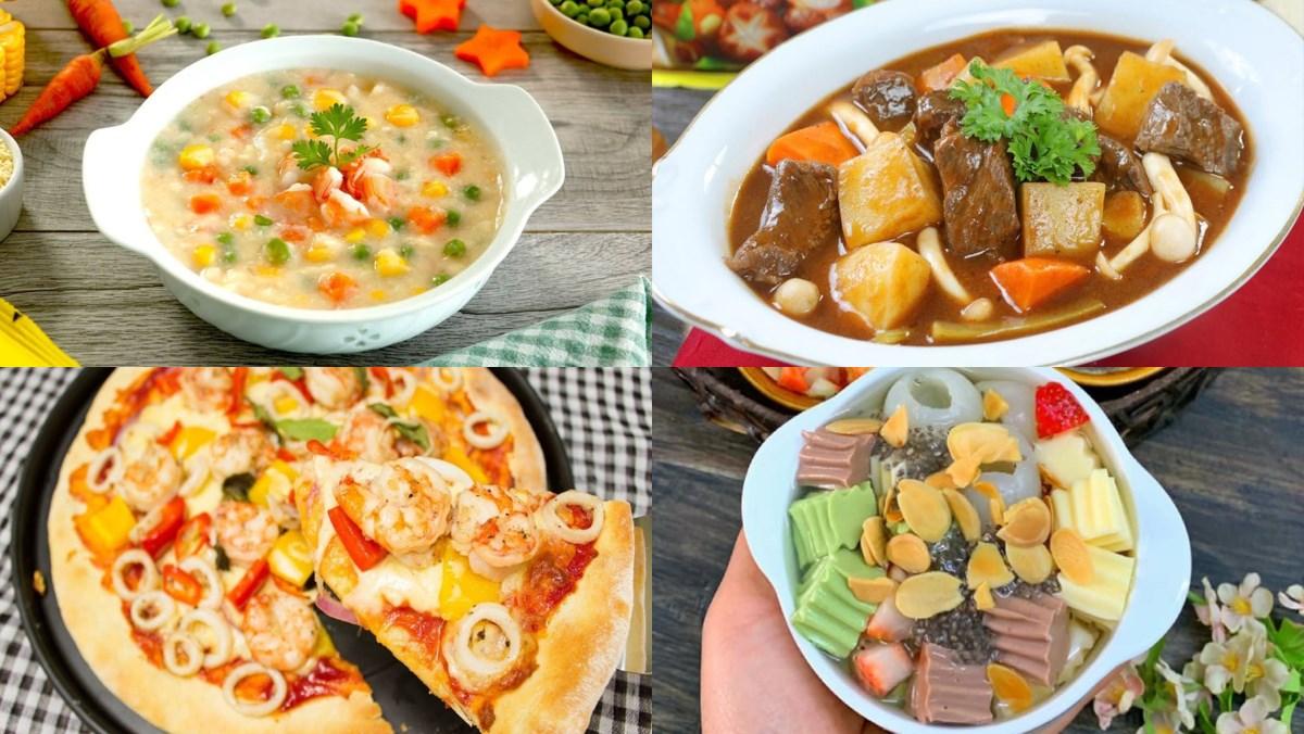 Tổng hợp 15 món ăn cho bé và gia đình