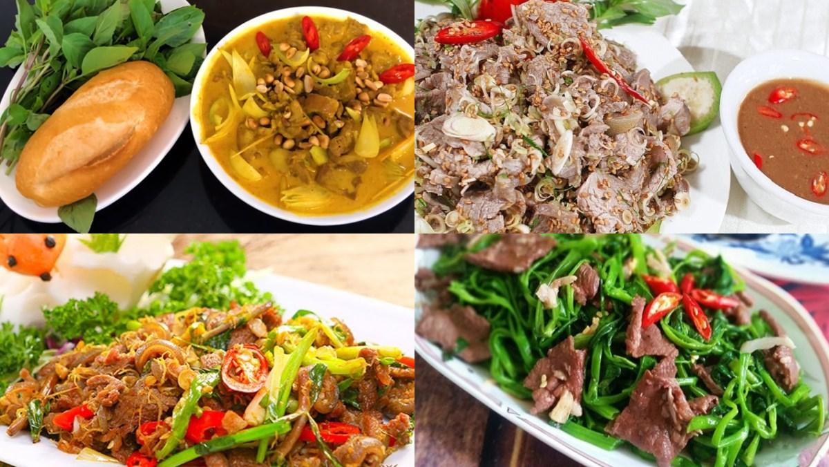 Tổng hợp 8 cách làm thịt dê xào